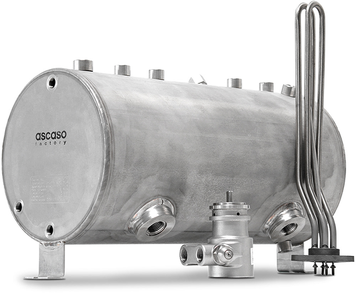 Ascaso News | Technology in stainless steel: The anti-limescale boiler.